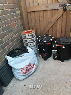2 Flaval FX6 Aquarium External cannister filters with all pipe work