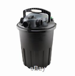 4000 Gallon Pressurized Bio Pond Filter 4 Fish Pond Waterfall Fountain with 36W UV