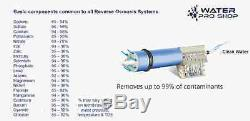 6 Stage Dual Home Drinking + RO/DI Reverse Osmosis Water System 150 GPD USA