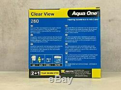Aqua One Clear View 280 Hang On Filter Easy Clip Onto Back of Your Aquarium Tank