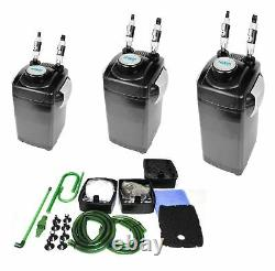 Aquarium External Canister Filter Fish Tank Tropical Marine with Media by HIDOM