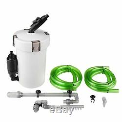 Aquarium Ultra-quiet External Filter Canister Fish Tank Outer Filtration System