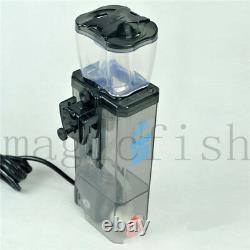 BUBBLE MAGUS Protein Skimmer Reef Tank Marine Filter Coral Mini Nano Hanging On