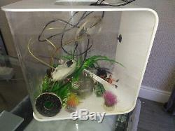 Biorb Flow Fishtank 30 Litres With led light, pump, filter and Accessories