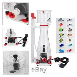 Bubble Magus Curve 5 In Sump Protein Skimmer Needle Wheel 140G + Bubble Plate