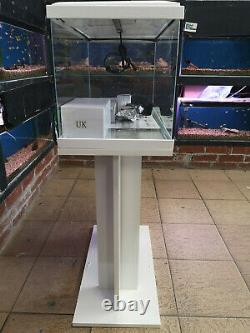 CIANO 60 FISH TANK & STAND Complete with LED Light, Heater, Filter and More