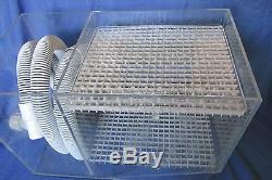 CPR Acrylic Wet/Dry Aquarium Filtration System with Overflow Box 21x 15x 11.5