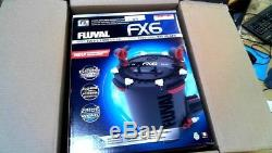 FLUVAL FX6 AQUARIUM CANISTER FILTER A219 All Media included PLUG AND PLAY