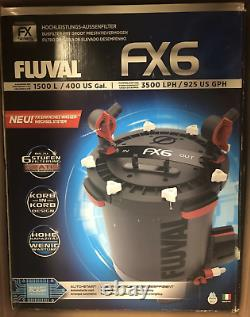 FLUVAL FX6 Canister Filter FREE SHIPPING! DAMAGE BOX