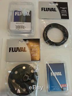 Fluval 404 405 Filter Tune Up Kit Complete with Impeller, shaft, cover, seal ring