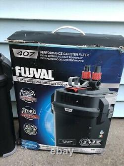 Fluval 407 Performance Aquarium Canister Filter Up To 100 Gallon