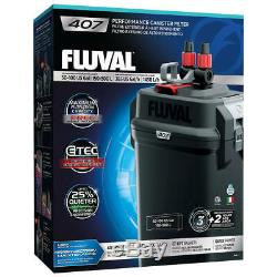 Fluval 407 Performance Canister Filter 120Vac 60Hz Free Shipping