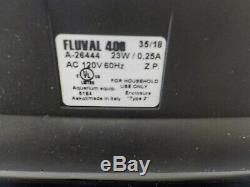 Fluval A217 406 Canister Filter for Aquariums 100 Gallon
