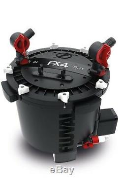 Fluval FX4 Canister Filter 250 Gal 700GPH Flow New Ships from Canada