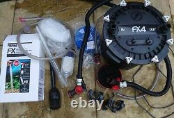 Fluval FX4 External Aquarium Filter with biohome and Sachem media included