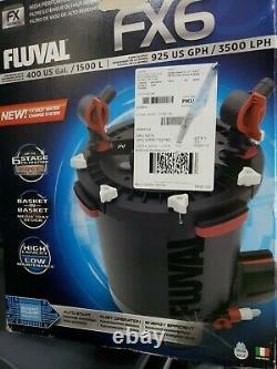 Fluval FX6 A219 High Performance Canister Filter BOX IS DAMAGED