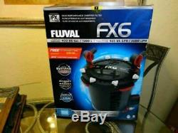 Fluval FX6 Aquarium Canister Filter Up To 400 Gallons Fish Tank