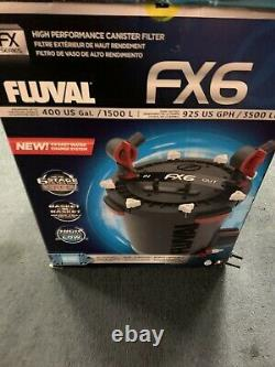 Fluval Fx6 External Canister Filter For Up To 400 Gallon Aquariums