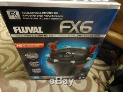 Fluval Fx6 High Performance Canister Filter 400 Us Gal /1500 L A219