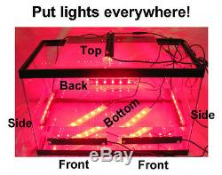 GEM5 Underwater Submersible Grow Light for ATS Refugiums Scrubbers Chaeto