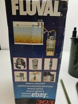 Hagen Fluval A-670 303 External Canister Filter 303GPH up to 70 Gallon Tank NEW