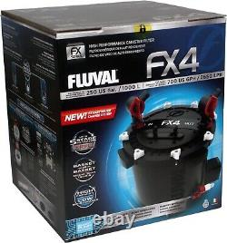 Hagen Fluval FX4 External Canister Filter with complete Media, hose, accessories