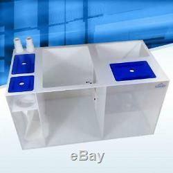 Icecap 36XL Reef Sump with 7 filter sock 36x23.5x16 Rated for 200-300gal