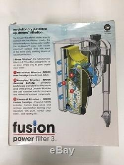 JW Fusion Aquarium Filter 3 For 10-29 Gallon 110 gph Use it as a Canister hanger