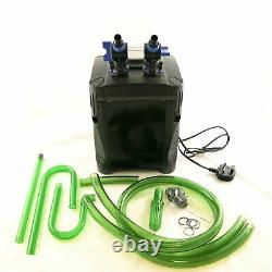 Jebao External Aquarium Filter One Touch Fish Tank Canister System