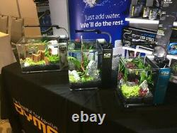NEW DYMAX CRYSTAL LILY PIPE WithSURFACE SKIMMER SET DIA. 16/22 AQUASCAPE PLANT FISH