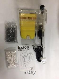New JW Fusion 4 Aquarium Filter for 15-40 Gallon. Aquariums Power Filter