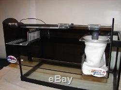 Refugium, Hang on Refugium System with LED light with Filter Sock
