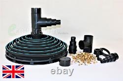 Retro Fit Aerated Weighted Pond Filtration Suction Dome Koi Fish Tank Filter