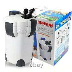 Sunsun Hw-3000 9w Uv 5-stage Canister Filter 793gph With LCD Display And Media