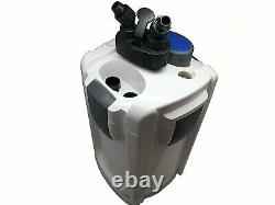 USED HW-704B 525 GPH 5-Stage External Canister Filter with 9W UV Sterilizer