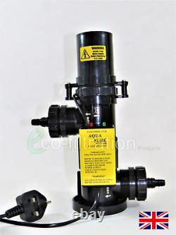 Water Treatment Unit For Koi Fish Pond Pump Filter Tank Pipe Fitting