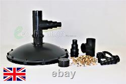 Weighted Suction Dome Bottom Drain Koi Fish Pond Tank Pump Filter Pipe Fitting
